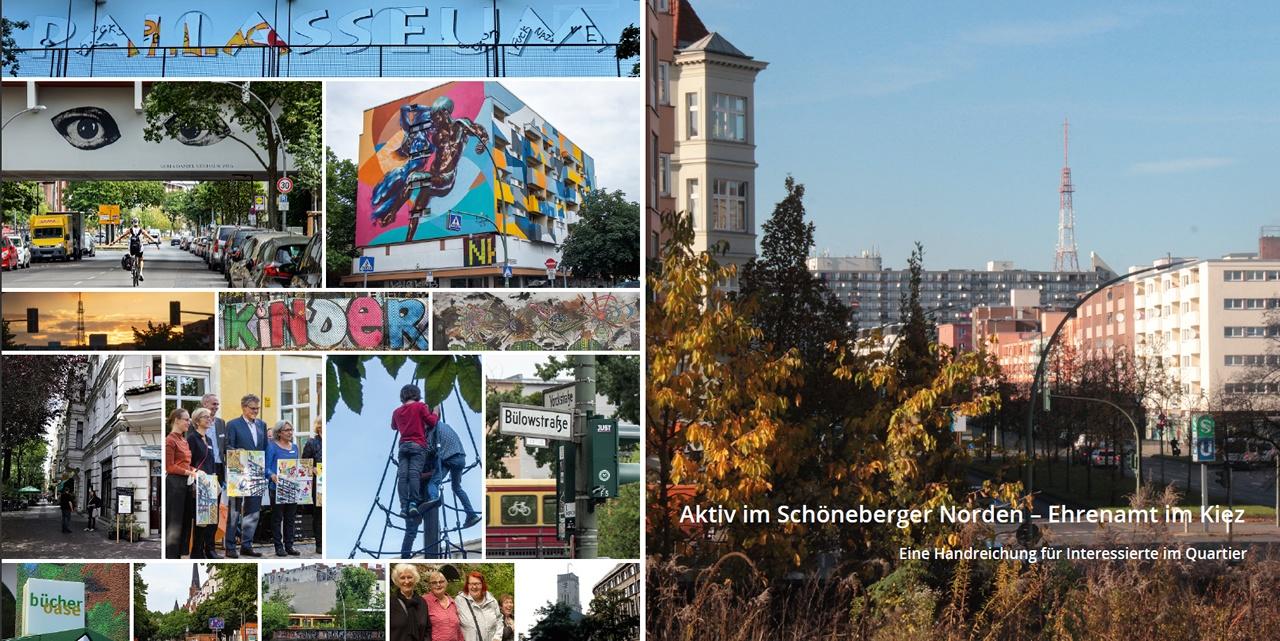 Neue Broschüre erschienen: Aktiv im Schöneberger Norden – Ehrenamt im Kiez