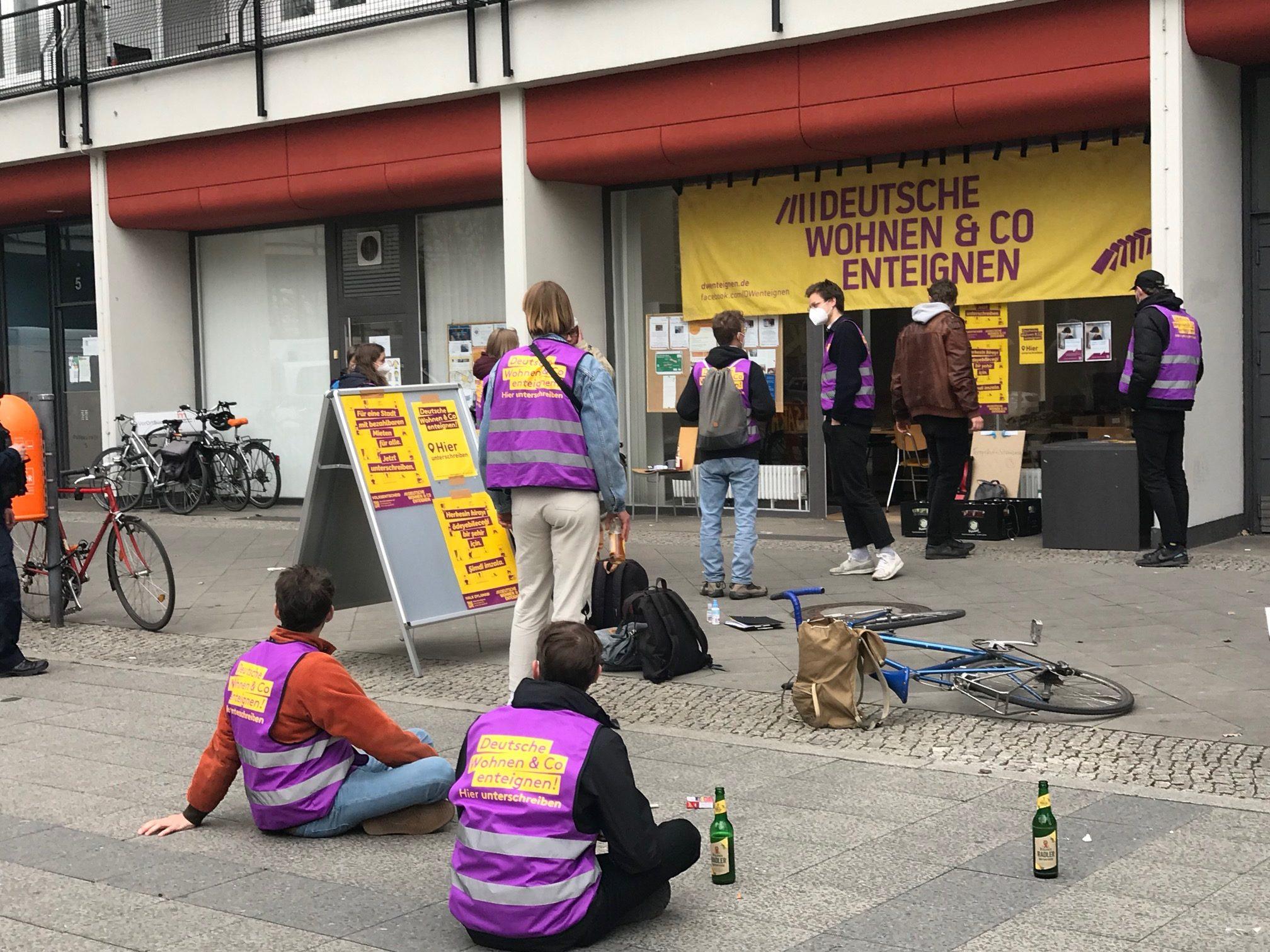 Deutsche Wohnen & Co. enteignen liegt zur Halbzeit auf dem Weg zum Volksbegehren über dem Soll.